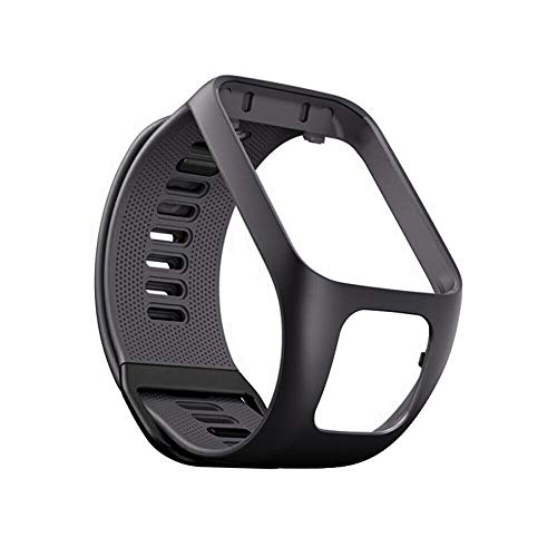Bracelet de Montre pour Tom Tom Runner 2/3 en Silicone Étanche pour TomTom Golfer 2 Adventurer