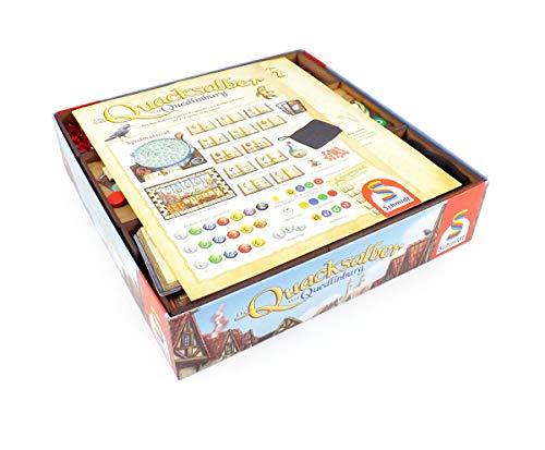 The Game Doctors Brettspiel Organizer kompatibel mit Die Quacksalber von Quedlinburgund Erweiterung Die Kräuterhexen