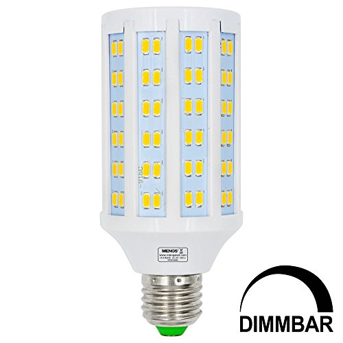 Preisvergleich Produktbild MENGS® Dimmbar E27 LED Lampe 20W Warmweiß 3000K AC 85-265V 144x5730 SMD