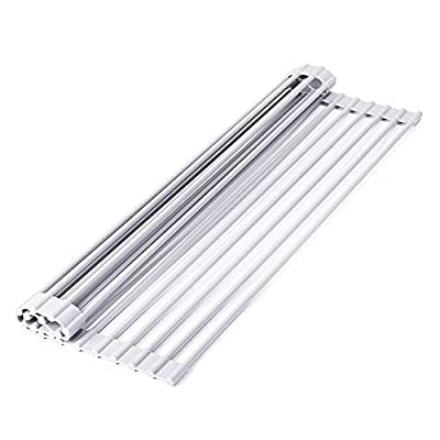 Amazon - Save 80%: Roll Up Dish Drying Rack Over Sink, 12.99 x 9.05 Inch Small Multipurpose…