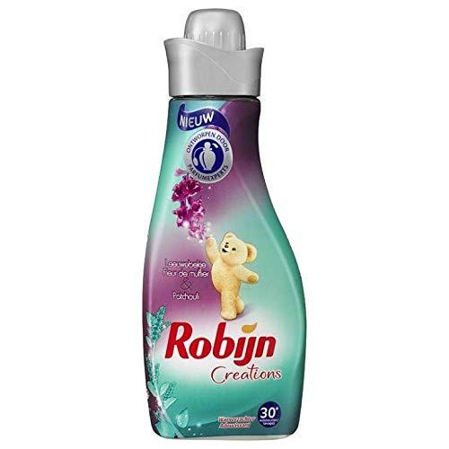 8 stuks - Robijn wasverzachter - leeuwenmaul & patchoeli - 30 wasbeurten - 750 ml