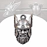 Wächterglocke des Wikingergottes Odin, Odin Vikings God Guardian Ride Bell, um Unglück zu vertreiben - Glücksbringer, überall aufgehängt, um Glück zu bringen, Biker-Geschenk (Quantity : #1pc)