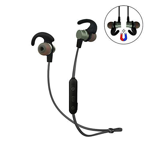 CYRDJ Bluetooth Kopfhörer, in Ear Magnetisches Headset, mit Wasserschutzklasse IPX5 6 Stunden-Spielzeit/Mikrofon, federleicht für iPhone, iPad, Samsung, Huawei, HTC und mehr RD38,Green