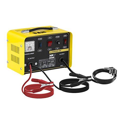 MSW S-CHARGER-10A Autobatterie-Ladegerät 6 12 V 5 8 A Ladeleistung Kühlsystem Autobatterie Ladegerät Auto Batterieladegerät