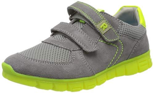 Richter Kinderschuhe Jungen Run Sneaker, Grau (Stone/Ash/Neonyellow 6601), 33 EU