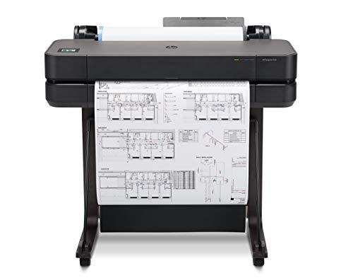HP DesignJet T630 24-Zoll-Drucker (Plotter, Farbdrucke bis DIN A1, WLAN, Netzwerk) schwarz