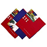 Approximately 21 x 21 inch Double-sided Printed 3 Pack Bandana Set HIGH QUALITY RE-USABLE BANDANA - High quality bandana that will last for years. You can wash these bandana multiple times and re-use like a brand new product. MULTIFUNCTIONAL - Not on...