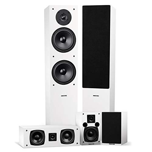 Fluance Elite High Definition Surround Sound Home Theater 5.0 Channel Speaker System Including...