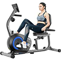 Pooboo Magnetic Resistance Indoor Cycling Bike with Monitor