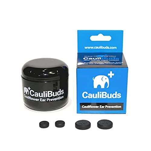 CauliBuds Cauliflower Ear Prevention Kit (Black)