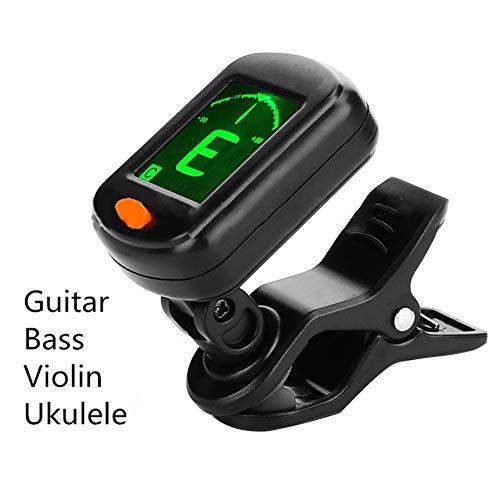 Makluce Tuner 2020 Opvouwbare multifunctionele digitale clip E-gitaar-tuner verjaardagscadeau
