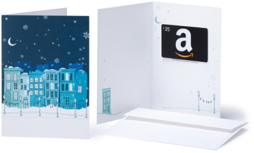 Amazon.com $25 Gift Card in a Greeting Card (Winter Design)