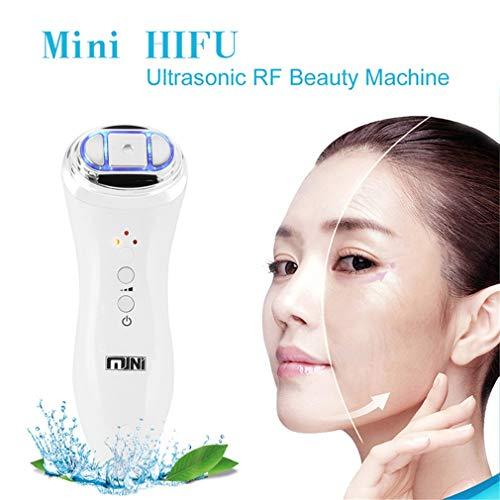 Gesichtspflege Schönheitsgerät Ultraschall Mini HIFU Hautverjüngung RF Lifting Beauty Therapy Hochintensives Ultraschall-Hautpflegegerät