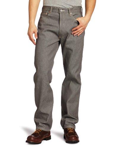 Levi's Herren Levi' 501 Original Fit Jeans, Grau (Grey Rigid STF), 32W/ x 32L