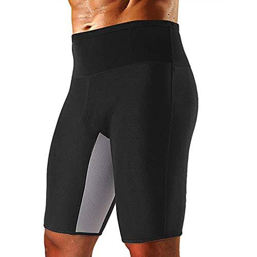 Dihope, zweetbroek, heren, korte sport-shorts, neopreen, sauna, stretch, body shaper voor gewichtsverlies, fitness, joggen