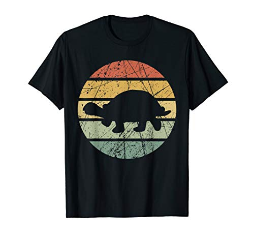 Schildkröte Meeresschildkröte Wasserschildkröte Retro T-Shirt