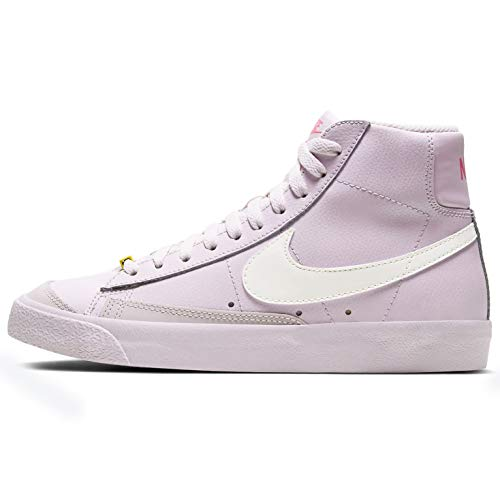 Nike Womens Blazer Mid '77 Casual Moda Sneaker Womens Cz0376-500, viola (Violet/Sail-digital Pink-opti Giallo), 43 EU