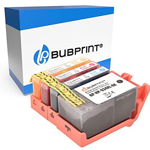 4 Bubprint Cartucce d'inchiostro compatibili per HP 934XL 935XL per OfficeJet Pro 6200 6230 6235 6239 6800 6812 6815 6820 6822 6825 6830 6835 Nero Cyan Magenta Giallo Multipack