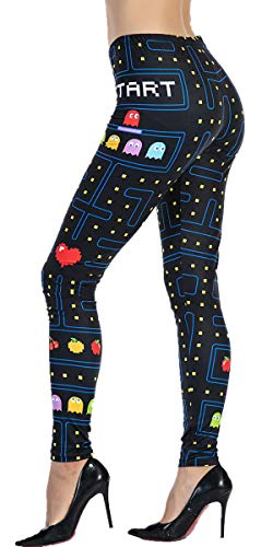 Women's Pac-Man Workout Leggings
