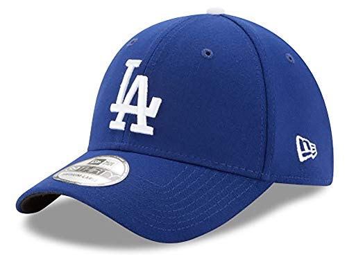 MLB Los Angeles Dodgers Team Classic Game 39Thirty Stretch Fit Cap, Blue, Large/X-Large
