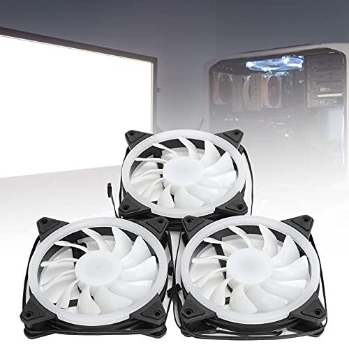 Ventilador de enfriamiento del Ordenador de 120m m, lubrique la Fan hidráulica del Transporte de los transportes hidráulicos para Haga Que la computadora funcione de Manera más fluida y fría