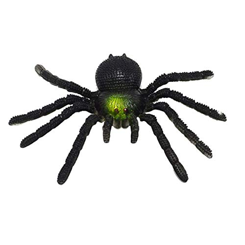 SeniorMar Simulation Big Spider Tiermodell Toy Tours Streich Scary Funny Surprise Gag Toy Scary Toy Halloween Requisiten
