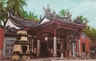 E0493 Malaysia, Penang Snake Temple Postcard