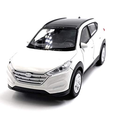 Onlineworld2013 Tucson SUV Weiss Modellauto Auto Maßstab 1:34 (lizensiert)