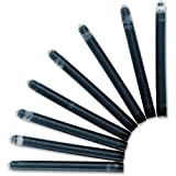 Waterman Ink Cartridge Refills Standard Black Ref S0712991 [Pack 8]