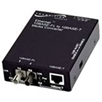 Transition Networks e-tbt-frl-05-na eth 10bt rj45 to 10bfl 850nm mmf st sa media converter 2km