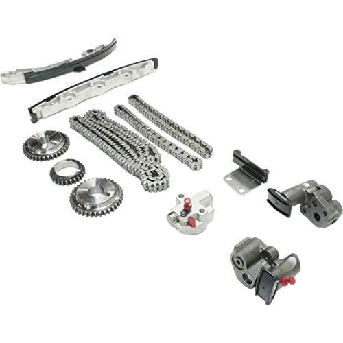 Hcodec Kit de cadena de distribución 24V TK645A para Murano FX35 G35 3.5L DOHC VQ35DE 02-07