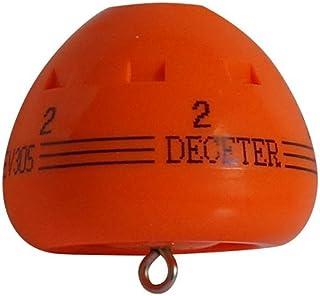 浮動ウキ DECETER(ディセター) オレンジ Lサイズ 2番