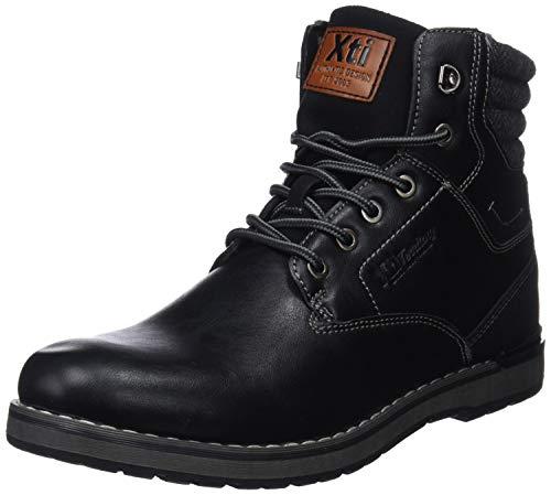 XTI Botín BAS048152 para Hombre Negro 42