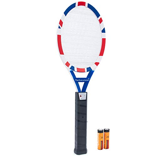 The Executioner UK Patriot Fly Killer Mosquito Swatter Racket Wasp Bug Zapper Indoor-Outdoor Over 50cm Long Limited Edition