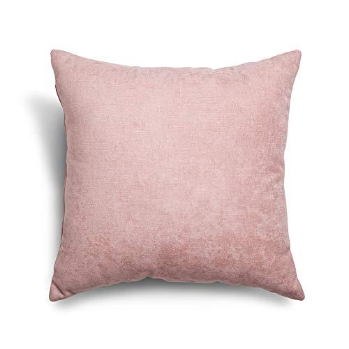 SuenosZzz- COJIN Relleno. Cojines Decoracion, Sofa,Cama, tapizado Acualine Antimanchas Salmón. Medidas: 48x48. Decoracion CASA