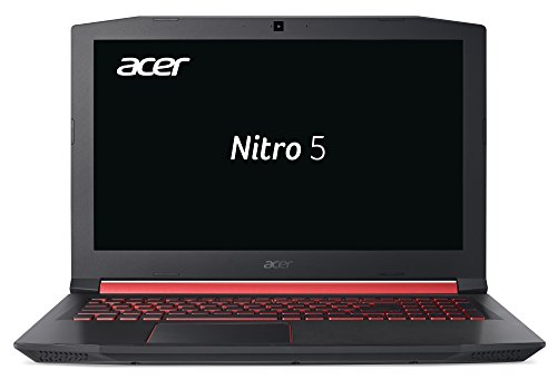 Acer Nitro 5 (AN515-42-R1GF) 39,6 cm (15,6 Zoll Full-HD IPS matt) Gaming Notebook (AMD Ryzen 5 2500U, 8GB RAM, 1.000GB HDD, 128GB SSD, AMD Radeon RX 560X, Win 10 Home) schwarz