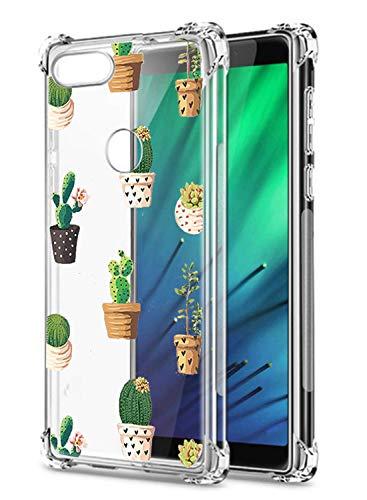 Oihxse Transparent Silicone Mignon Case Compatible pour Xiaomi Redmi K20/K20 Pro Coque TPU Souple Ultra Mince Housse Clear Crystal Design Motif Anti-Scrach Protection Etui Bumper (A6)
