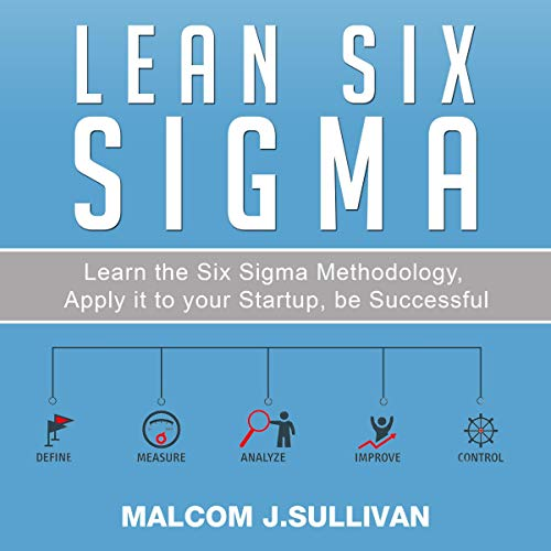Lean Six Sigma audiobook cover art