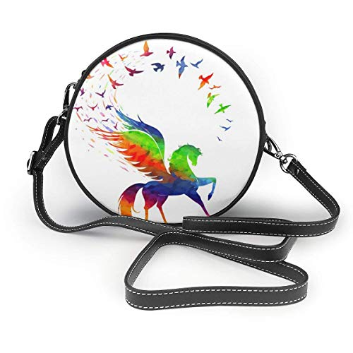 Peg Konzept der Inspiration Regenbogen Farbe Damen Slant Bag, personalisierte Einzelschulter Tasche, Date Bag Tourist Bag