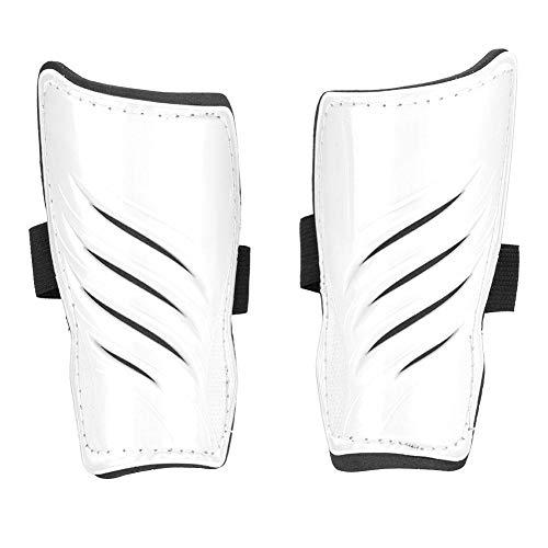 Alomejor 5 Farben 1 Paar Fußball Schienbeinschoner Kinder Fußball Beine Protector(Weiß)