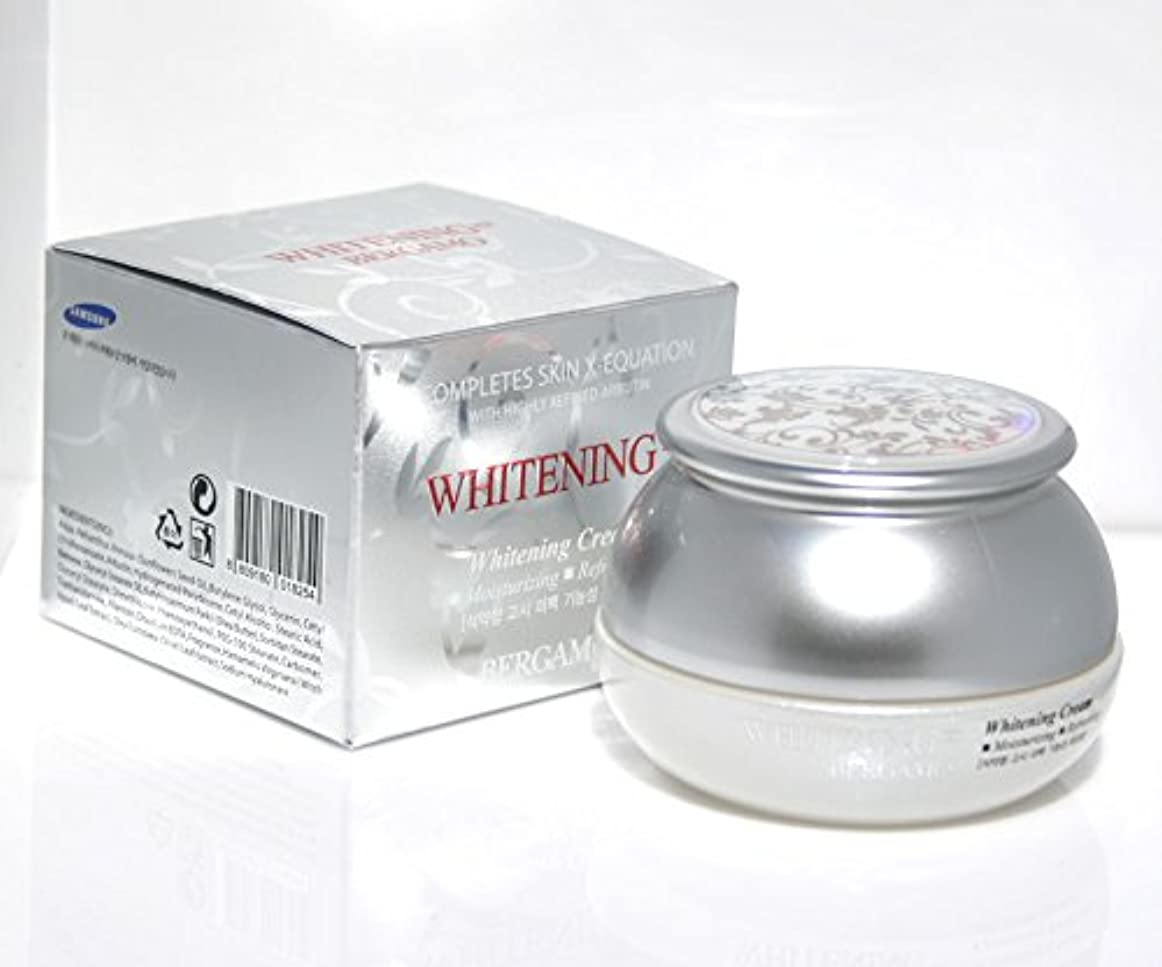 責め好み脈拍【ベルガモ][Bergamo]  は、高度に精製アルブチンホワイトニング例クリーム50g /  Completes Skin X-equation with Highly Refined Albutin Whitening Ex Cream 50g /  を完了は、皮膚のX-式、さわやか / Whitening,moisturizing,refreshing / 韓国化粧品 / Korean Cosmetics [並行輸入品]