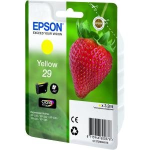 Epson C13T29844010 - 29 - 3.2 ml - yellow - original - ink cartridge - for Expression Home XP-235, 245, 247, 332, 335, 342, 345, 432, 435, 442, 445