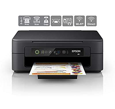 Epson Expression Home XP-2100 Print/Scan/Copy Wi-Fi Printer, Black