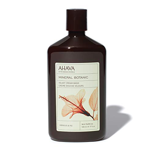 AHAVA Dead Mineral Hibiscus & Fig Body Wash, 17 Fl Oz
