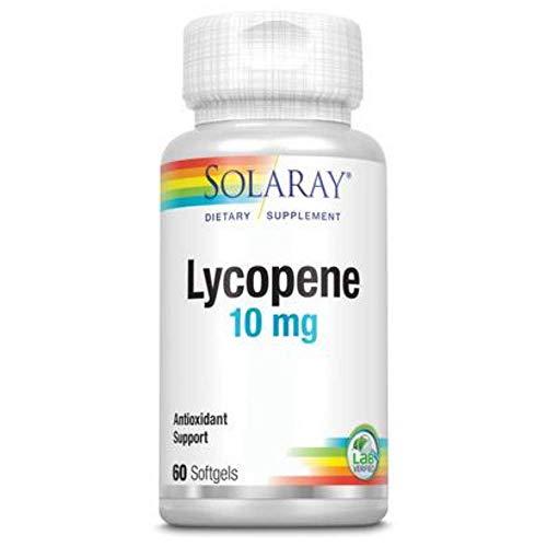 Solaray Lycopene, Softgel (Btl-Plastic) 10mg   60ct