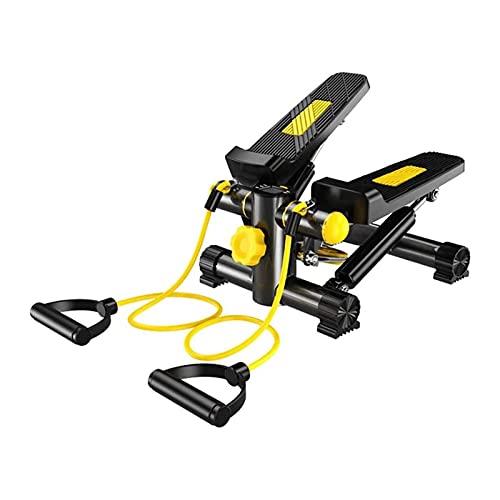 FGDSA Stepper per Scale Fitness per Esercizi, Mini Macchine Ellittiche per Uso Domestico con Bande di Resistenza, Attrezzature per Esercizi Stepper