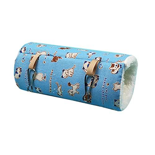 ハムスター ハウス クッションベッド フェレット ハンモック モモンガ ふとん ベッド あったかベッド シマリス ケージ デグー 小動物 冬用品 寒さ対策 アサギ