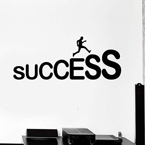 Yaonuli muurstickers voor het werk van des Erfolgs met ladder, professioneel, decoratie voor kantoor, afneembaar, wandlamp, vinyl, waterdicht