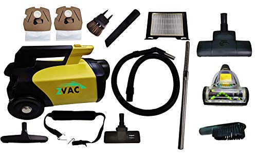 ZVac Canister Vacuum Cleaner Pet Edition - Rug, Upholstery,...