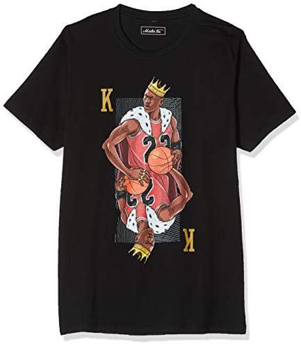 Mister Tee T-Shirt King Mike Tee Black